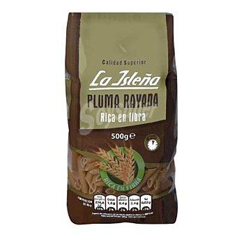La Isleña Pasta pluma rayada 500 g