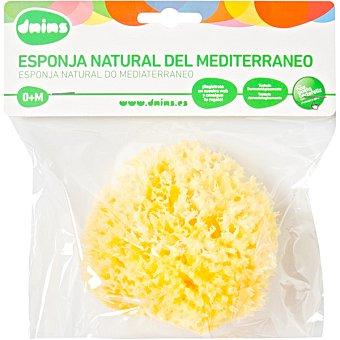 Dnins Esponja natural del Mediterraneo desde 0 meses blister 1 unidad 1 unidad
