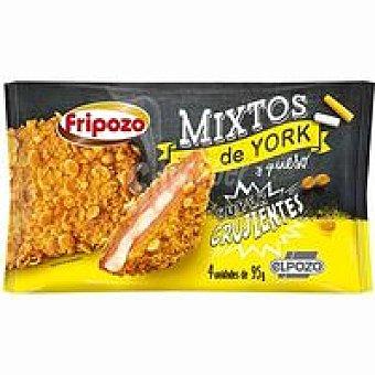 Fripozo Mixto de jamón-queso bolsa 380 g