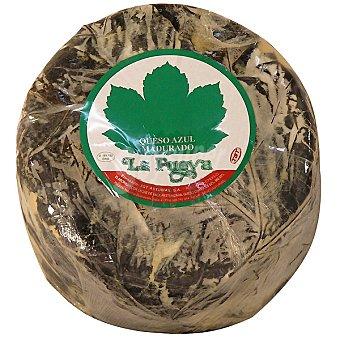 La Fueya Queso azul con hojas  2,5 kg (peso aproximado pieza)