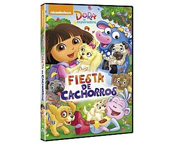 Sony Dora la exploradora: Fiesta de cachorros, 2016, película en Dvd. Género: Animación, infantil, aventuras. Edad: + 3 años