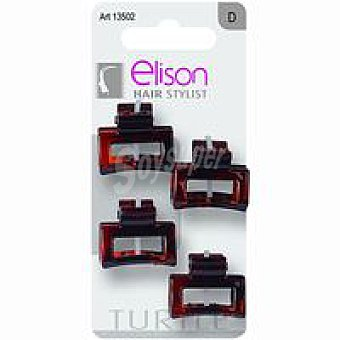 ELISON Pinza mini Turtle Pack 4 unid