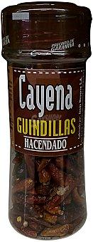 Hacendado Cayena (guindilla) (tapón marron) Tarro 27 g
