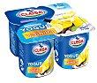 Yogur sabor vainilla Pack 4 envases x 125 g Clesa