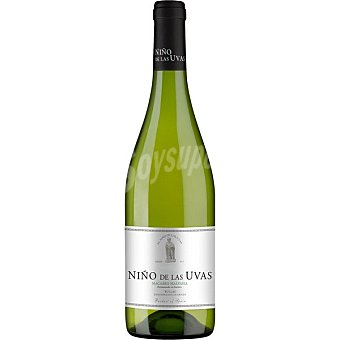 NIÑO DE LAS UVAS vino blanco macabeo D.O. Bullas botella 75 cl
