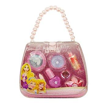 Princesas Estuche maquillaje + clip pelo 1 ud