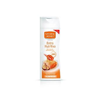 Natural Honey Loción corporal extra nutritiva, con castaña de Brasil y karité 400 ml