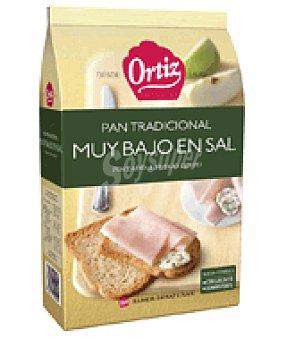 Ortiz Pan tostado sin sal Pack de 30x9 g