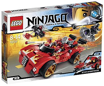 LEGO Juego de Construcciones Deportivo Ninja X-1, Modelo 70727 1 Unidad