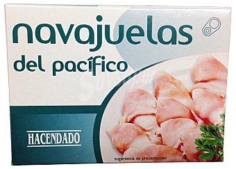Hacendado Navajuelas al natural Lata 110 g escurrido