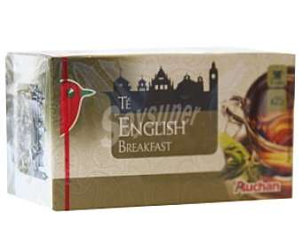 Auchan Té English Breakfast (Té Negro) 25 Unidades 43,75 Gramos