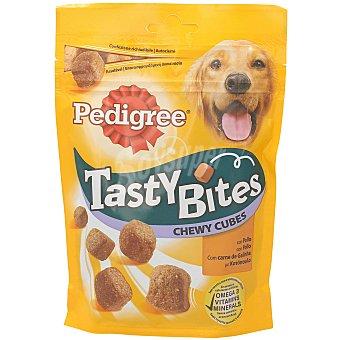 Pedigree Snacks para perros Tasty Bites chewy cubes Envase 130 g