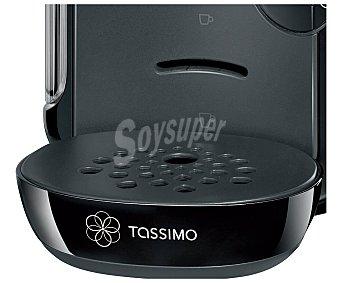 TASSIMO VIVY Cafetera monodosis bosch TAS1202 Negra, deposito de 0,7 litros, sistema de cápsulas Tassimo, lectura inteligente de la capsula que regula la cantidad de agua, la temperatura y el tiempo de preparación de la bebida, 0,7 litros