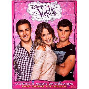 DEKORA Violetta calendario adviento de chocolate  unidad 50 g