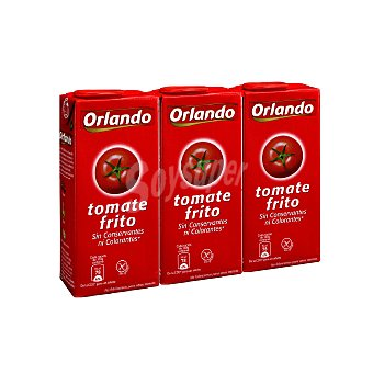 Orlando Tomate frito Pack 3 envases 350 g