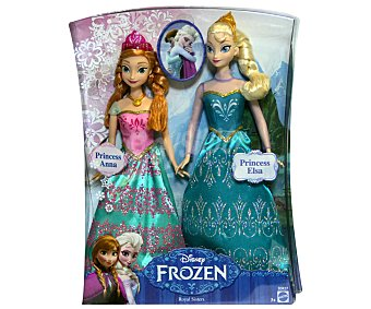 Disney Muñecas de Anna y Elsa, Hermanas y Princesas de Frozen 1u