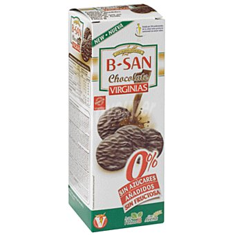 Virginias Galletas b-san con chocolate sin azúcar 120 g