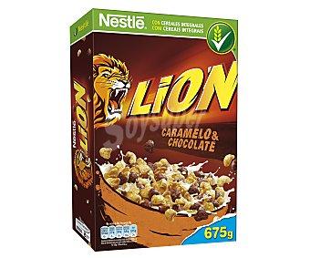 Nestlé Cereales con chocolate y caramelo Lion 675 g