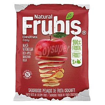 Frubis Snack de manzana crujiente sin azúcar añadido 20 g