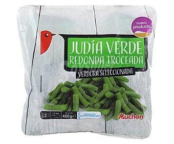 Auchan Judía verde redonda troceada 400 gramos
