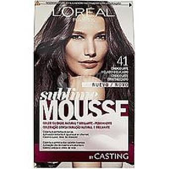 Sublime L'Oréal Paris Tinte chocolate helado N.415 Caja 1 unid