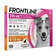Pipetas Tri-Act solución spot-on para perros 5-10 kg Caja 3 kg Frontline