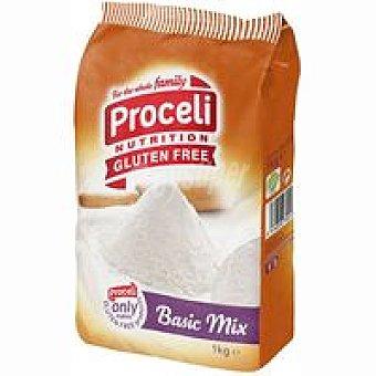 Proceli Basic Mix preparado panificable Caja 1 kg