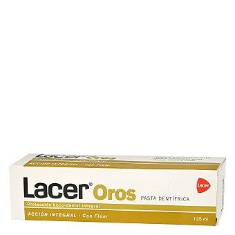 LACER Oros Pasta dentífrica con flúor 125 Mililitros