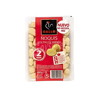 Gallo Gallo ñoquis bolitas de patata Estuche 400 gr