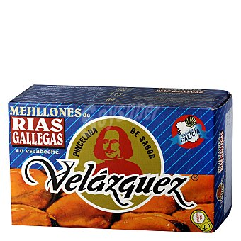 Velazquez Mejillones de las rías gallegas en escabeche 69 g