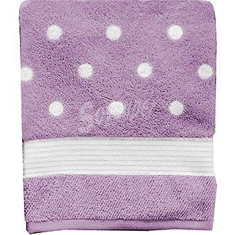 CASACTUAL Sevilla toalla jacquard de tocador en color lila