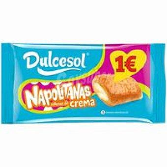 Dulcesol Napolitanas de crema 5 unid