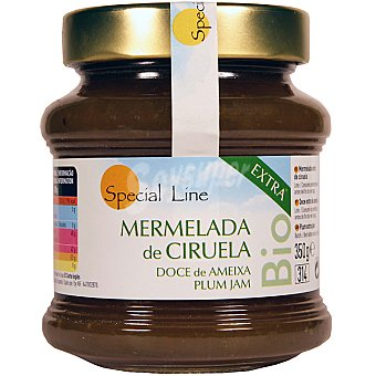 SPECIAL LINE mermelada extra de ciruela ecológica envase 350 g
