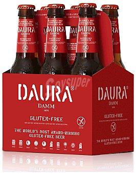 Daura Damm Cerveza para celiacos Daura 6 botellines de 33 cl
