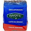 Café en grano descafeinado Paquete 250 g Café Baqué