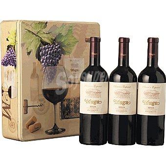 Muga Vino tinto Selección Especial D.O. Rioja Estuche  Lata 3 botellas 75 cl