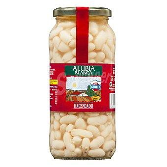 Hacendado Alubia cocida blanca Tarro 570 g escurrido 400 g