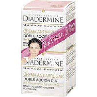 Diadermine Crema hidrantante antiarrugas Pack 2x50 ml