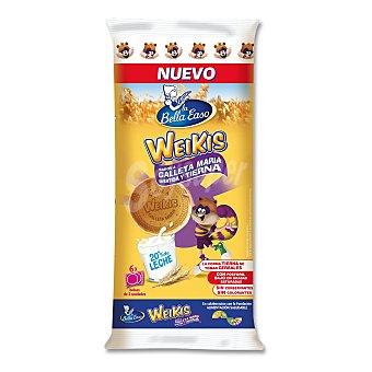 La Bella Easo Bollitos Weikis sabor galleta maría Bolsa 204 g