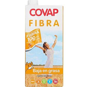Covap Leche semidesnatada enriquecida con fibra Envase 1 l