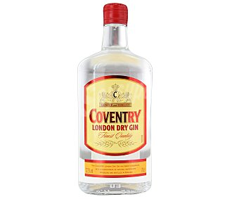 COVENTRY London dry gin Botella de 70 centilitros