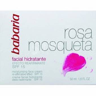 Babaria Crema rosa mosqueta hidratante Tarro 50 ml