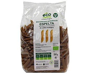 Ecocesta Macarrones de espelta integrales bio 500 g