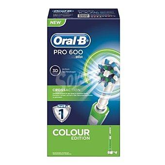 Oral -B Cepillo dental eléctrico Pro 600 Cross action 1 unidad