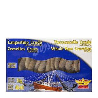 Pescatrade Langostino crudo congelado (40/60) 1 kg 1 kg