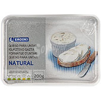 Eroski Queso untar natural 200g