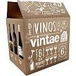 Selección de vinos y denominaciones vinícolas interesantes Estuche 6 botellas 75 cl con regalo de 6 copas de vino Estuche 6 botellas 75 cl DE COPAS POR ESPAÑA