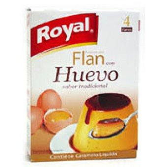 Royal Flan con huevo 4 unid