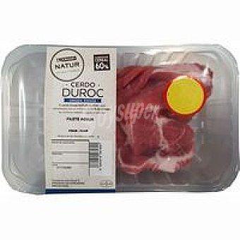NATUR Duroc Filete de aguja de cerdo Eroski Bandeja 400 g