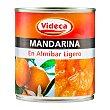 Mandarina en almibar Bote 312 g escurrido 175 g Videca
